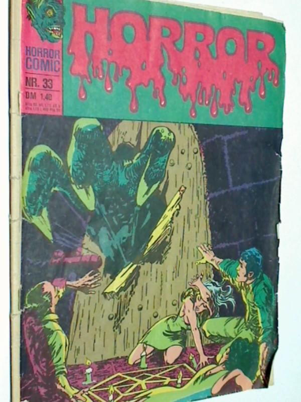 Alcala, Alfredo und Jack Oleck: Horror 39 Ein Dämon an der Tür, BSV Williams DC Comic-Heft, 1974