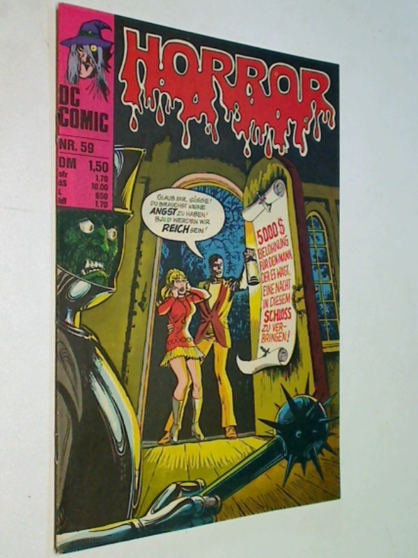 Horror 59 , mit Phantom Stranger, BSV Williams DC Comic-Heft, ERSTAUSGABE 1977