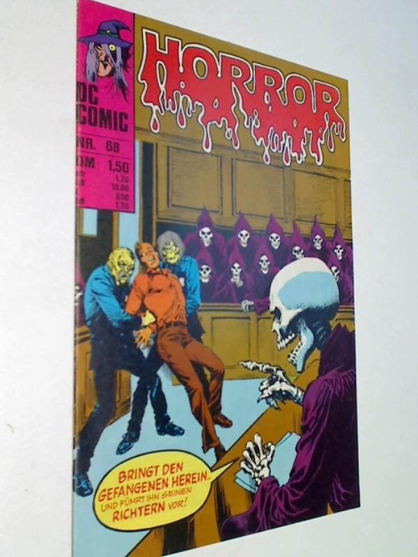 Horror 68, mit Spectre , Williams DC Comics. Comic-Heft, ERSTAUSGABE 1978
