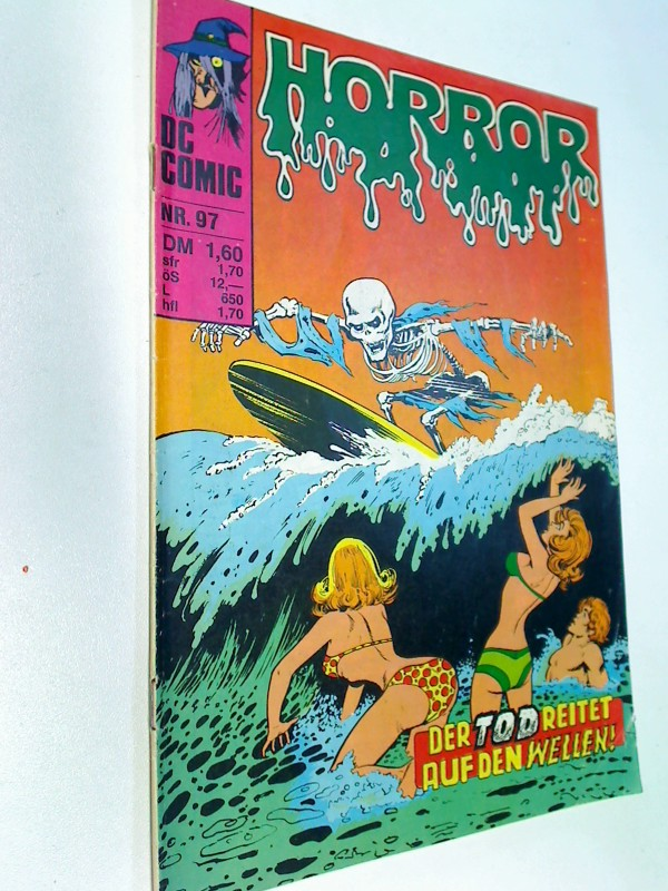 Ditko, Steve und Vicente Alcazar: Horror 97 Das Spiel des Todes,  Williams DC Comic-Heft, ERSTAUSGABE 1980