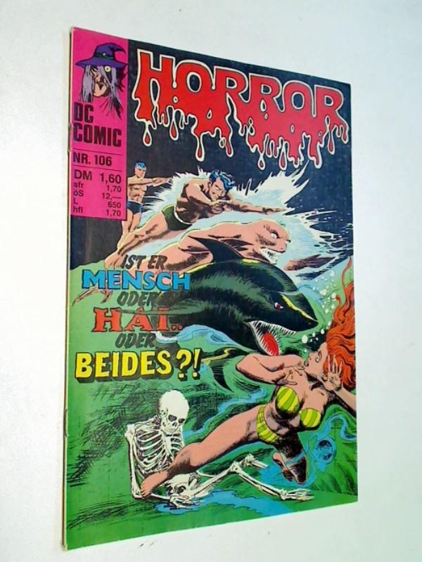 Panaligan, Noly und Rubeny: Horror 106 Mitternachtsmusik, Williams DC Comic-Heft, ERSTAUSGABE 1980