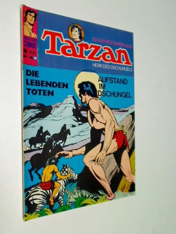 Tarzan 166, Die Höhlenmenschen, Herr des Dschungels, BSV Williams Comic-Heft, ERSTAUSGABE