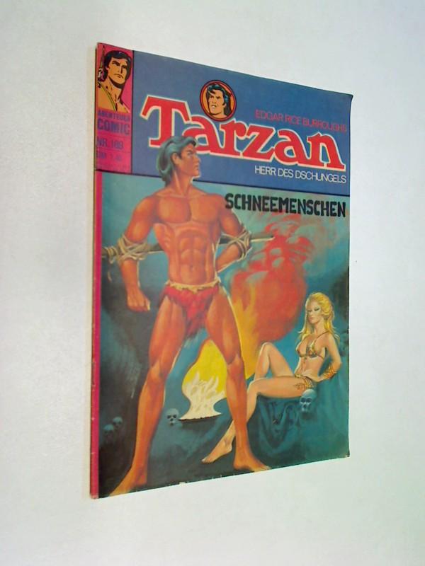 Tarzan 189, Die Schneemenschen . BSV Williams Comic-Heft, ERSTAUSGABE
