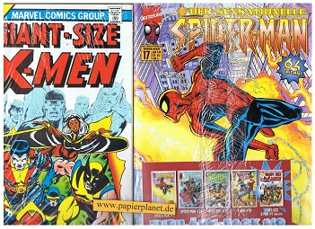 Marvel Jubiläum Pack 10 = Der sensationelle Spider-Man 17, Spider-Man 34, Wolverine 28, X-Men 34, Giant-Size X-Men 1 von 1975 (Reprint)
