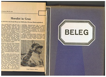 Beleg. Kunstwerke der zweiten Hälfte des 20. Jahrhunderts aus dem Besitz der Stadt Mönchengladbach