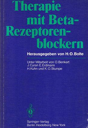 Benkert, O., J. Cyran und E. Erdmann: Therapie mit Beta- Rezeptorenblockern . 3540094652