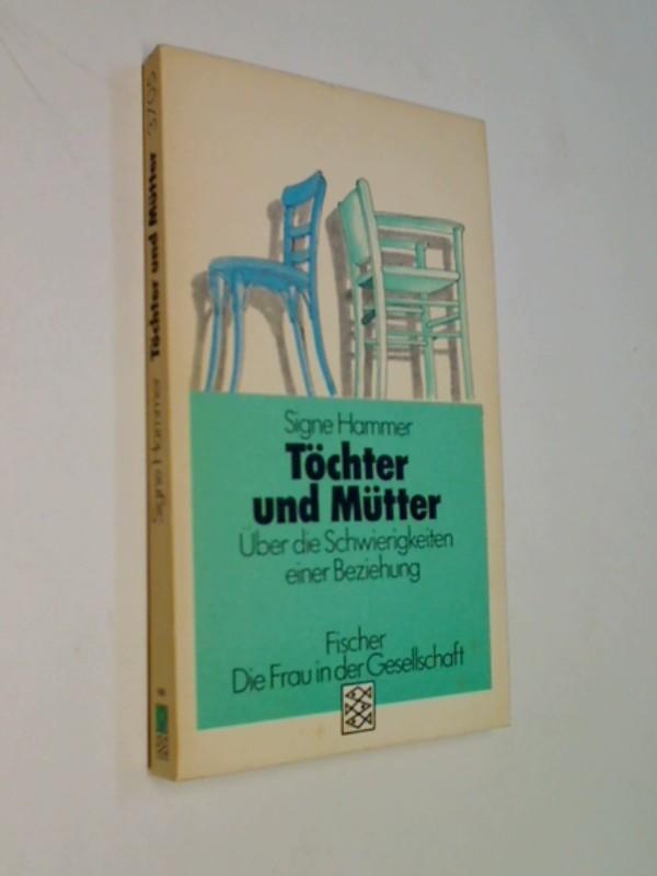 Töchter und Mütter . Über die Schwierigkeiten einer Beziehung .