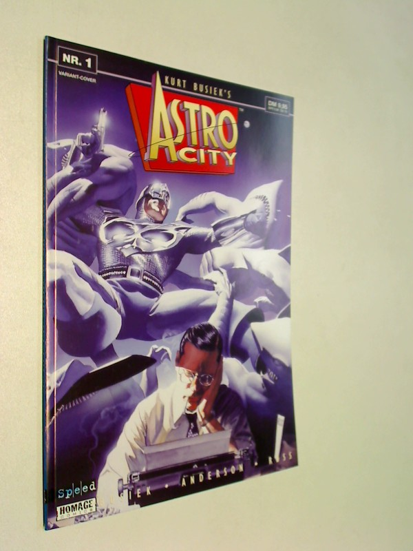 Astro City 1, Variant-Cover , Juni 1999, Variant-Cover,  Speed Comics