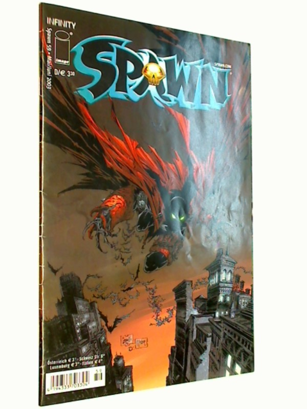 Spawn Kiosk 59, Infinity Image Comic-Heft, ERSTAUSGABE 2002, 4194333703304