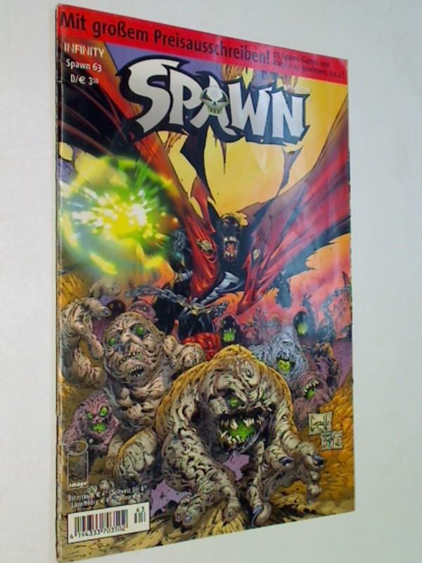 Spawn Kiosk 63, Infinity Image Comic-Heft, ERSTAUSGABE