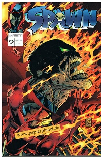 McFarlane, Todd: Spawn Prestigeausgabe 9 , 1. Auflage Dez 1997, Infinity Image Comics, Prestige-Format ; 3932430093