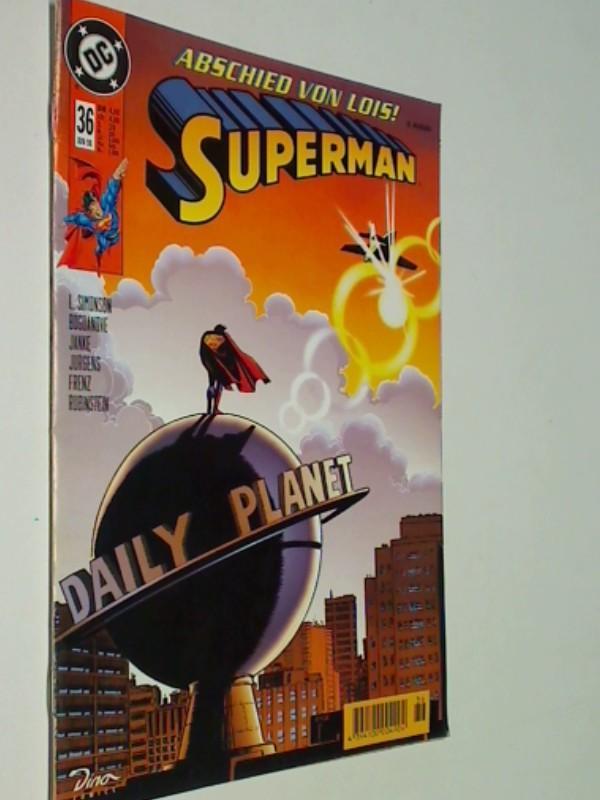 SUPERMAN 36 Juni 1998,  Dino DC Comics, Comic-Heft, ERSTAUSGABE