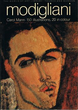 MANN, Carol: Modigliani . World of Art.