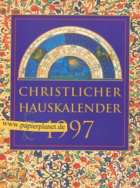 Christlicher Hauskalender 1997 ; 3629001262