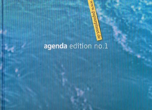 agenda edition no.1