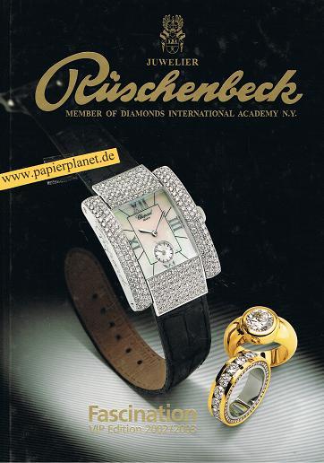 Juwelier Pluschenbeck, Member of Doamonds International Academy N.Y. , Fascination VIP Edition 2002/2003