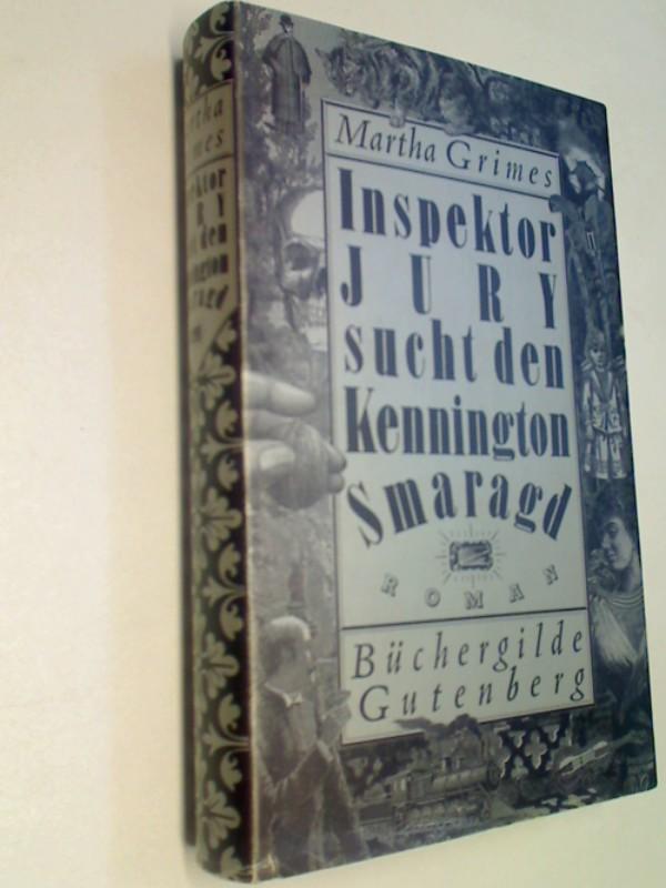 Inspektor Jury sucht den Kennington-Smaragd : Kriminalroman