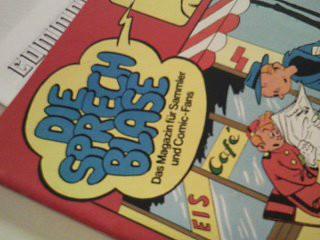 Die Sprechblase 18 mit Conan, Storm Rip Kirby, Akim, Sigurd, + Commode, 1.2.1979, Das Magazin für Sammler und Comic-Fans (Hethke Comics)