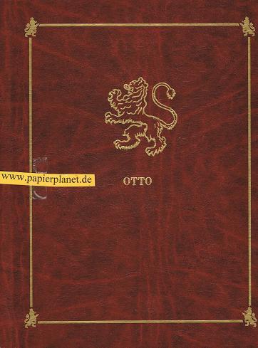 Otto . Zertifikat der Registrierung . Hiermit wird bestätigt das die Otto Familien im Weltbuch 1992 Verzeichnet sind .