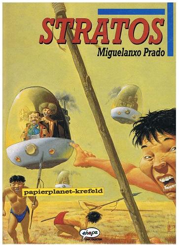 Prado 5: Stratos Hardcover Comic