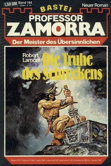 Professor Zamorra Band 164 Die Truhe des Schreckens. Der Meister des Übersinnlichen.