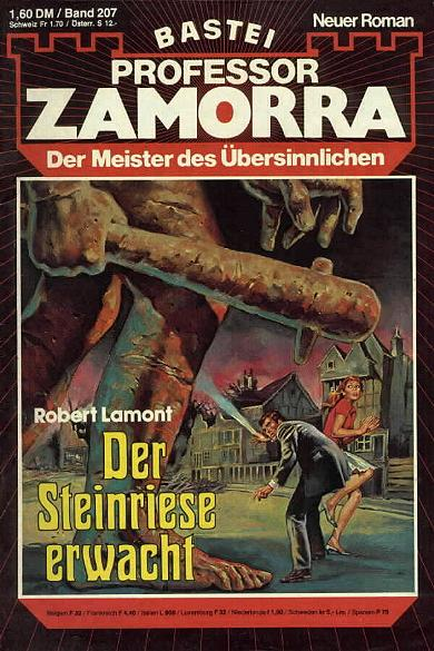 Professor Zamorra Band 207 Der Steinriese erwacht (Der Meister des Übersinnlichen) Roman-Heft