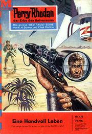 Perry Rhodan Erstauflage Nr. 153 Eine Handvoll Leben.