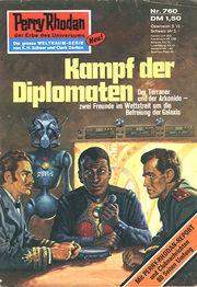 Perry Rhodan Erstauflage 760 , Kampf der Diplomaten. Roman-Heft Der Erbe des Universums. Die grosse Weltraum-Serie von .