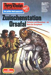 Perry Rhodan Erstauflage Nr. 1071 , Zwischenstation Orsafal. Roman-Heft.