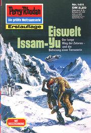 Perry Rhodan Erstauflage Nr. 1411 Eiswelt Issam-Yu.  Roman-Heft Der Erbe des Universums. Die grosse Weltraum-Serie von .