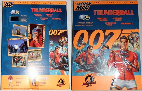 Action Man James Bond Agent 007 Thunderball (Action Figur)