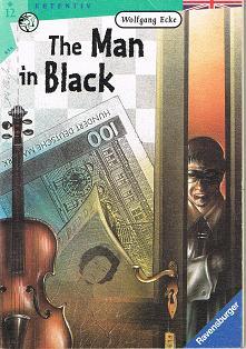 Der  Mann in Schwarz. Ravensburger Taschenbuch  Englische Ausg.,  The man in black and other detective stories