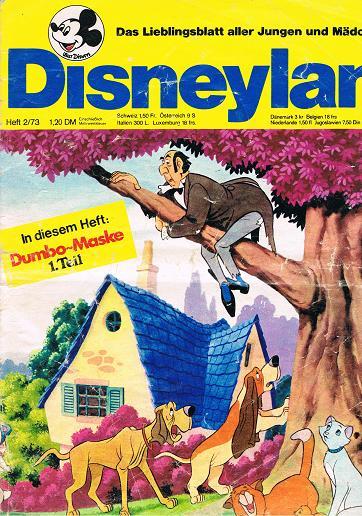 Disneyland Heft 2/73 Das Lieblingsblatt aller Jungen und Mädchen