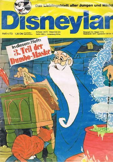 Disneyland Heft 4/73 Das Lieblingsblatt aller Jungen und Mädchen