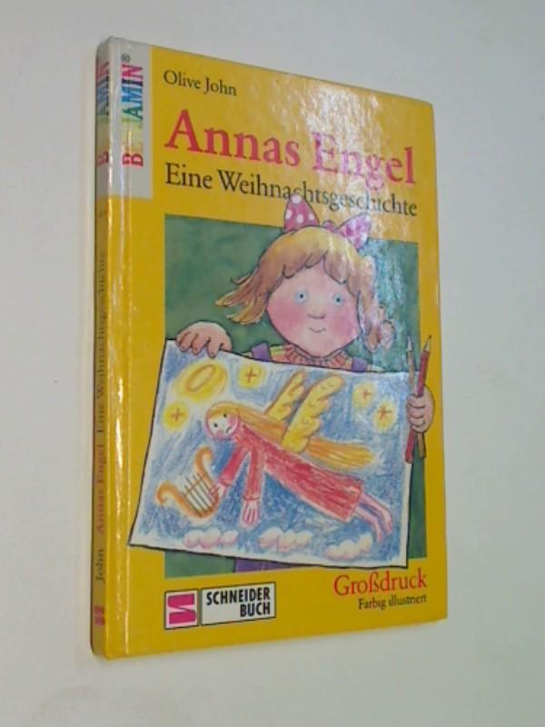 Annas Engel. Eine Weihnachtsgeschichte. Großdruck