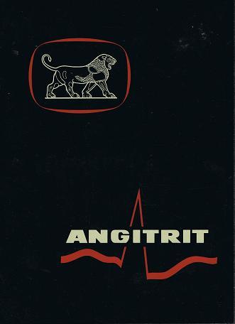 Angitrit  Triäthanolamintrinitrat als Depot-Tablette zur Prophylaxe und Dauertherapie der koronaren Durchblutungsstörungen, plus Schallplatte