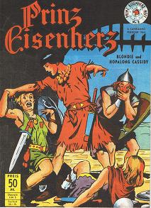 Prinz Eisenherz Heft, 3. Jahrgang 1954, Nr. 2, Sammlerausgabe. Hethke Reprint, Comic-Heft,