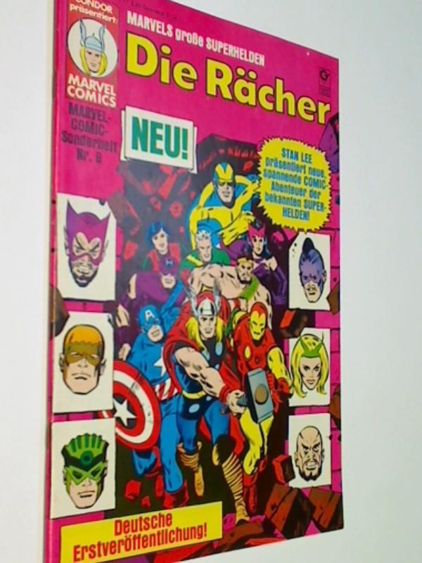 Marvel Comic Sonderheft 9 Die Rächer : Der Meisterplan des Mandarin, 1982, = The Avengers, Condor  Comic-Heft, ERSTAUSGABE 1982