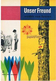 Unser Freund erzählt vom Sparen, Heft 3, 1962, Jahrgang 5.
