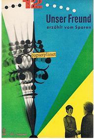 Unser Freund erzählt vom Sparen, Heft 1, 1963, Jahrgang 6.