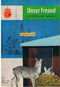 Unser Freund erzählt vom Sparen, Heft 2, 1963, Jahrgang 6.