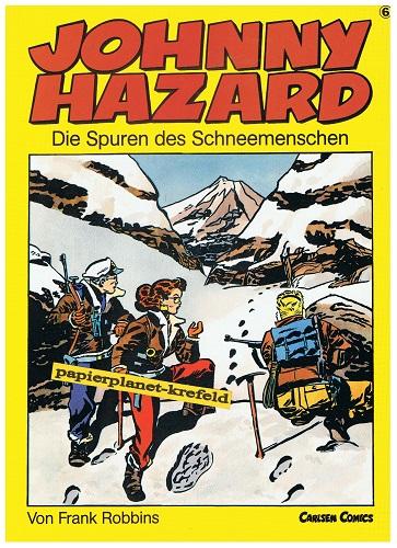 Johnny Hazard VI. Die Spuren des Schneemenschen