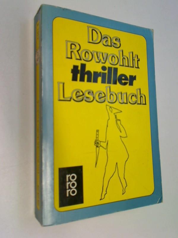 Das Rowohlt thriller Lesebuch.