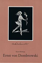 Kunst-Herberge. Ernst von Dombrowski Holzschneider, Zeichner, Erzähler