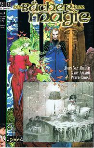 Rieber, John Ney, Gary Amaro und Peter Groß: Bücher der Magie Heft 5, Bannkreise Teil 1 von 2 Variant-Cover (Vertigo DC Speed Comics)