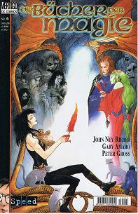 Bücher der Magie Heft 6, Bannkreise Teil 2 von 2 (Vertigo DC Speed Comics), ERSTAUSGABE