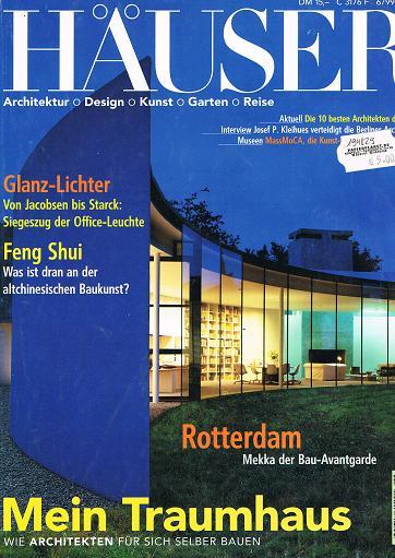 Häuser 1999 Heft 6 (Ein Journal von Schöner Wohnen) Aus aller Welt: Wohnideen für Individualisten.