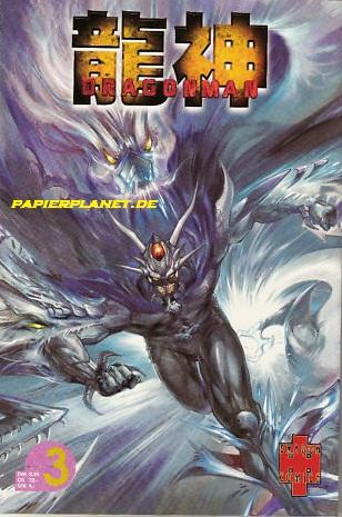 Lung, Khoo Fuk und Tony Wong: Dragonman 3 (Panini Dragon Comics) (Dragon Man)