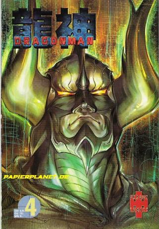 Dragonman 4 (Panini Dragon Comics) (Dragon Man)