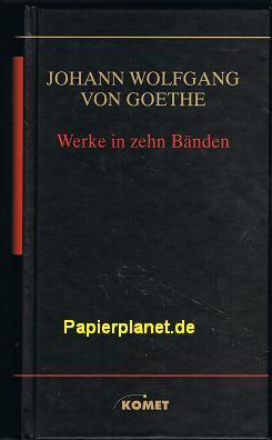Goethe Werke in zehn Bänden Band 6: Erzählende Werke II , Neu bearb. von Gisela Spieekerkötter , 3898363104